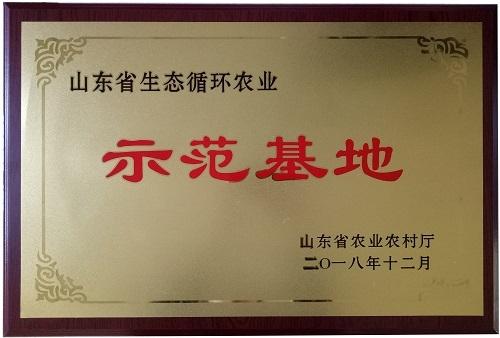 山东省生态循环农业示范基地